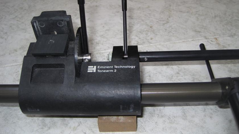 Eminent Technology ET2 Tone arm, pump, set up jig ET2 Complete setup