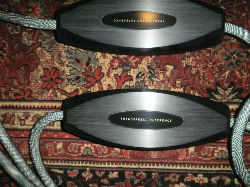 Transparent Audio  Musicwave Reference 15' MM2 current model, spades, box