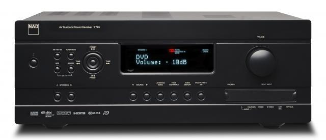 NAD T775 AV Receiver with warranty and free shipping