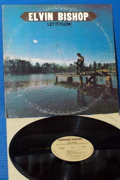 "ELVIN BISHOP -  - ""Let It Flow"" -  Capricorn 1974"