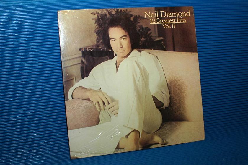 """NEIL DIAMOND -  - """"12 Greatest Hits Vol II"""" -  Columbia 1982 Sealed"""