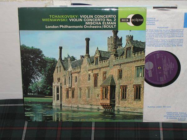 Elman/Boult/LPO - Tchaikovsky Violin C Decca/UK ecs 569