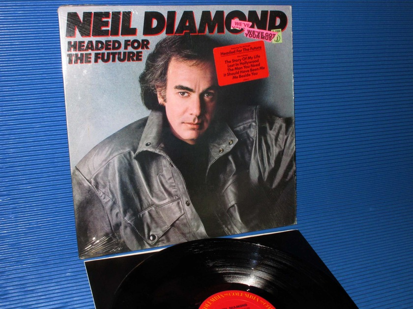 "NEIL DIAMOND - - ""Headed For The Future"" -  Columbia 1986 1st pressing"