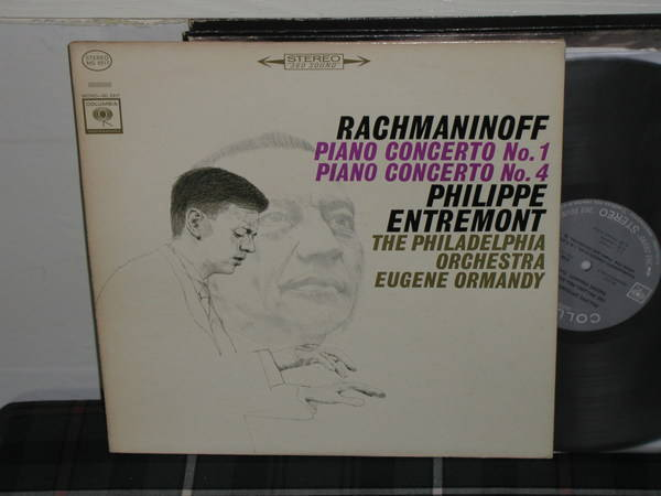 Entremont/Ormandy - Rachmaninoff Cto 1 Columbia 360 1st labels LP