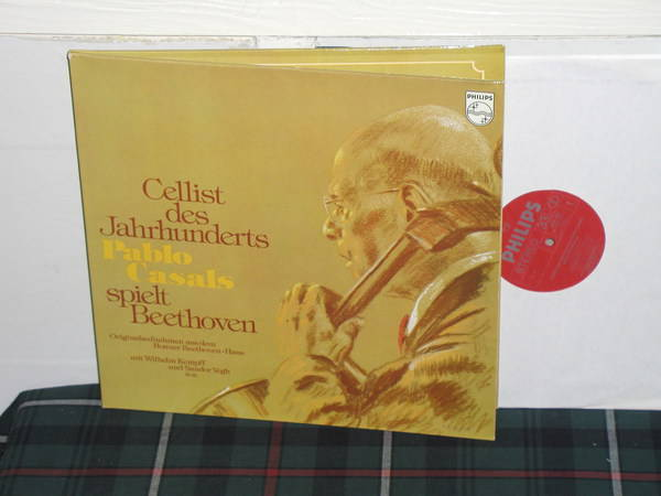 Casals/Kempf - Cellists des Jahrunderts Philips Import  6701 2lp