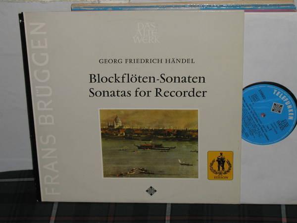 Frans Bruggen - Blockfloten-Sonaten Telefunken/DAW sawt 9421-b