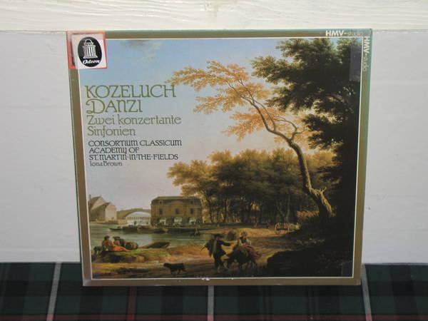 Brown/AoStMitF - Kozeluch EMI/HMV studio 8431 german