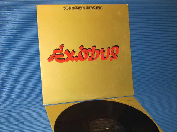"BOB MARLEY & THE WAILERS - - ""Exodus"" - Island Records 1977 Sterling"