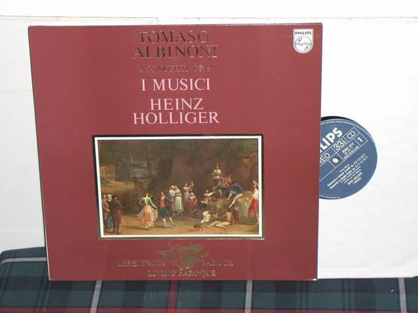 I Musici/Holliger - Albonini 4 Concerti Philips Import pressing 9502