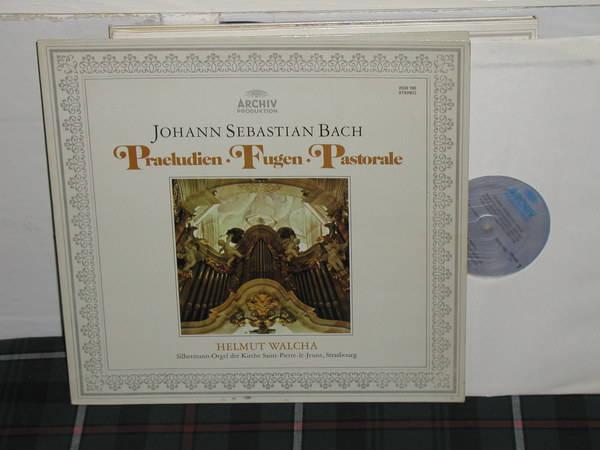 Walcha - Bach Archiv 2533 180 metallic