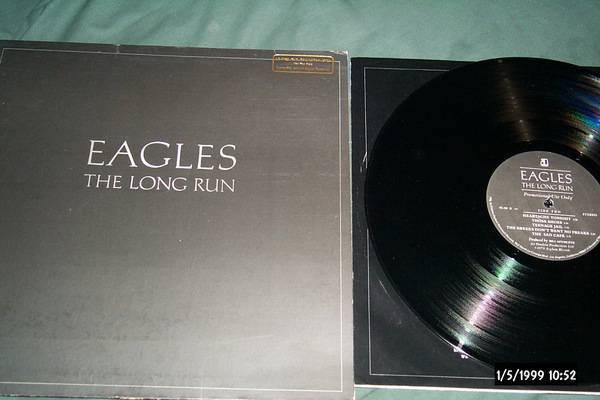 The eagles - The Long Run promo lp nm
