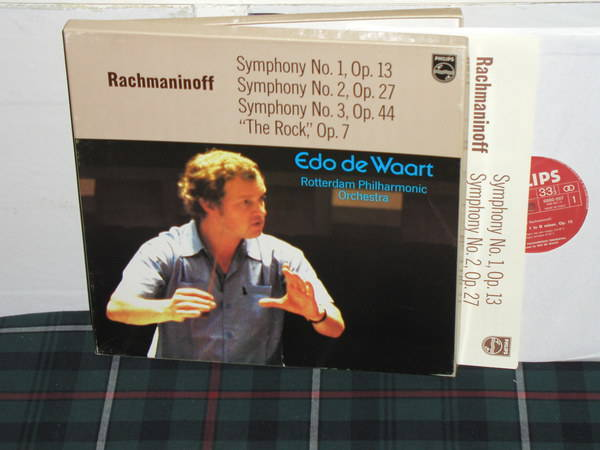 De Waart/RPO - Rachmaninoff 1-2-3 Philips Import  6998 3lp boxset
