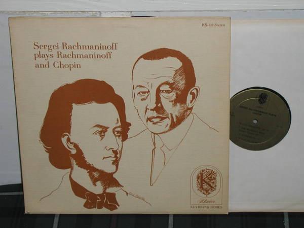 Sergei Rachmaninoff - Rachmaninoff Klavier gold ks-103