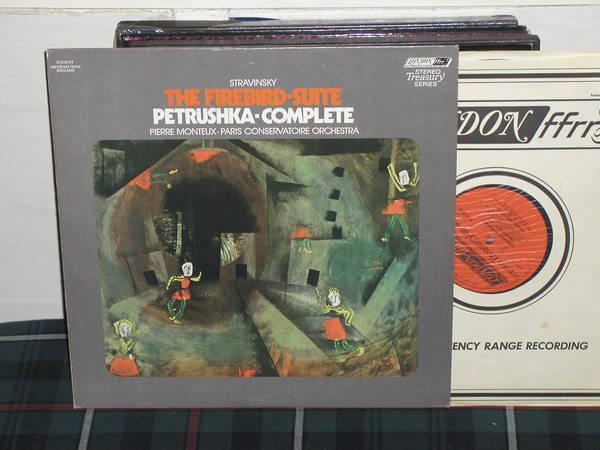Monteux/PCO - Stravinsky Firebird London ffrr uk decca sts 15197
