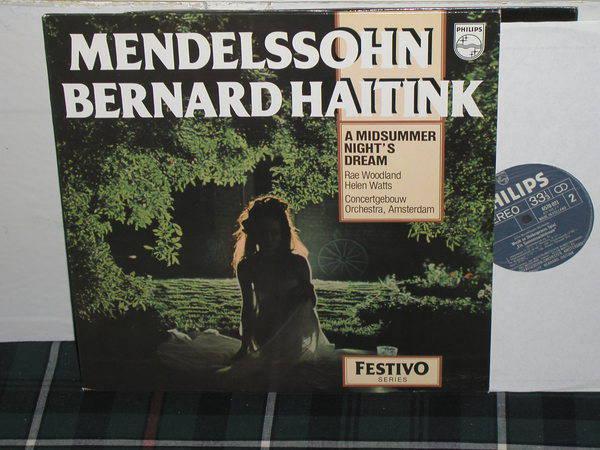 Haitink/ConcertgebouwOA - Mendelssohn Philips Import pressing 6570