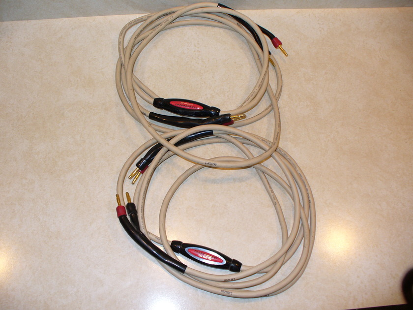 Transparent  Music Wave 200 10 foot pair speaker cables-bananas