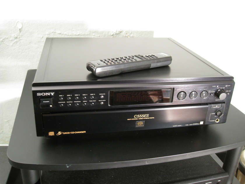 Sony SCD-C555es w/SACDmods Statement mods. This is a  killer CD changer for small $