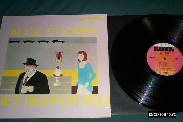 Alice Cooper - Pretties For You rare straight label lp nm