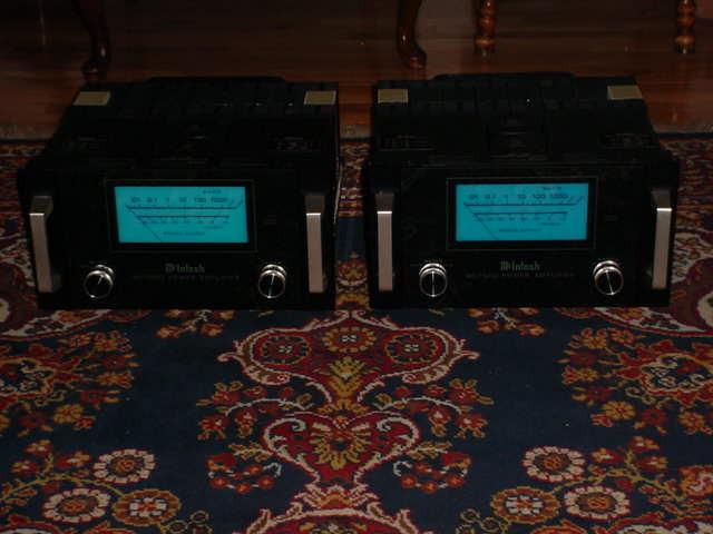 McIntosh MC1000 MC-1000 Stainless Steel Amplifiers 110+220V