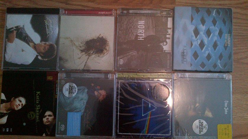 Various - SACD 8 with 3 being sealed