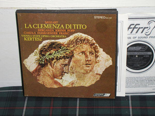 Kertesz/VSOC - Mozart London ffrr uk decca osa1387