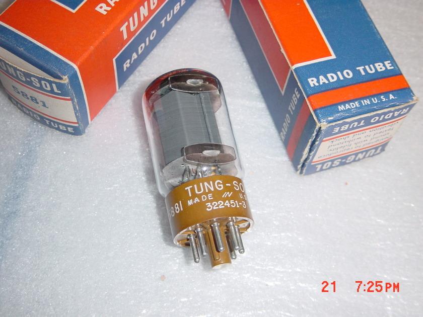 Tung-sol RCA Sylvania 5881 NOS/NIB