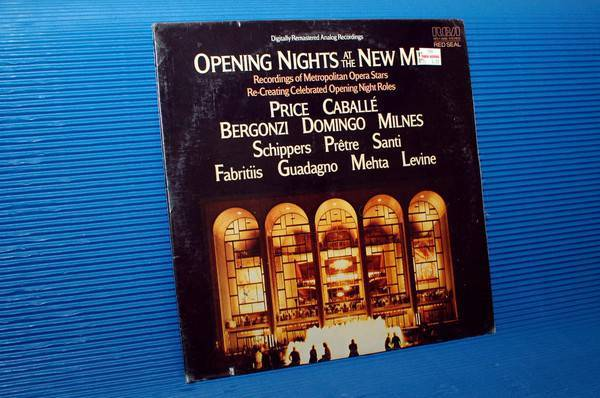"""Opening Nights At - The New Met"" - Rca RCA Red Seal 1983 Sealed"