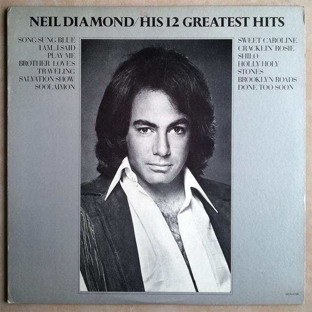 Neil Diamond -  - His 12 Greatest Hits / EX