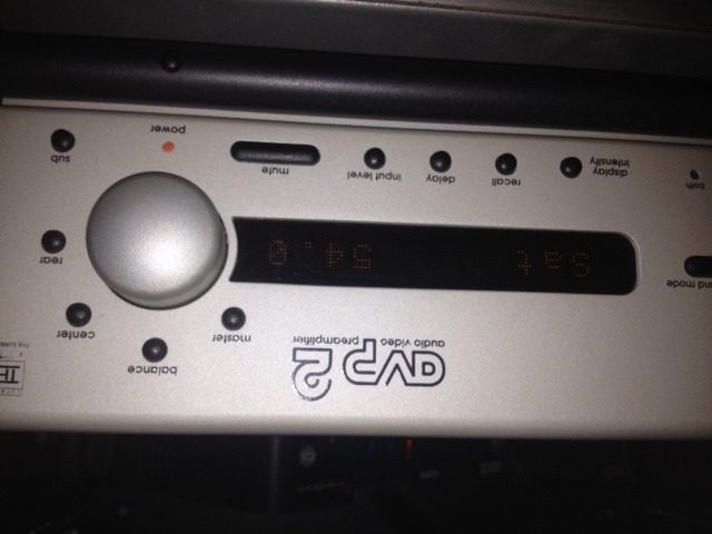 Proceed AVP2 +6  Amazing processor with 6ch bypass rare