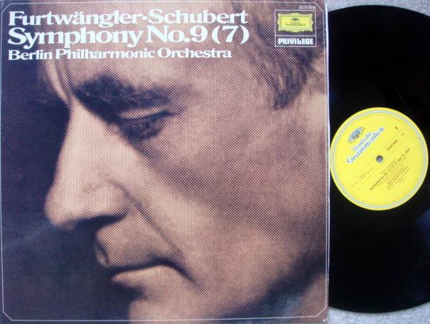 DG / Schubert Symphony No.9(7), - FURTWANGLER/BPO, MINT!