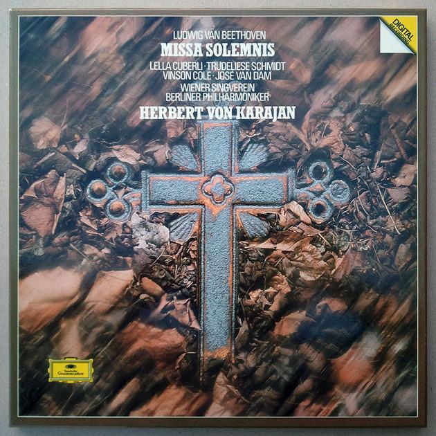 DG/Karajan/Beethoven - Missa Solemnis / 2-LP Box Set / NM