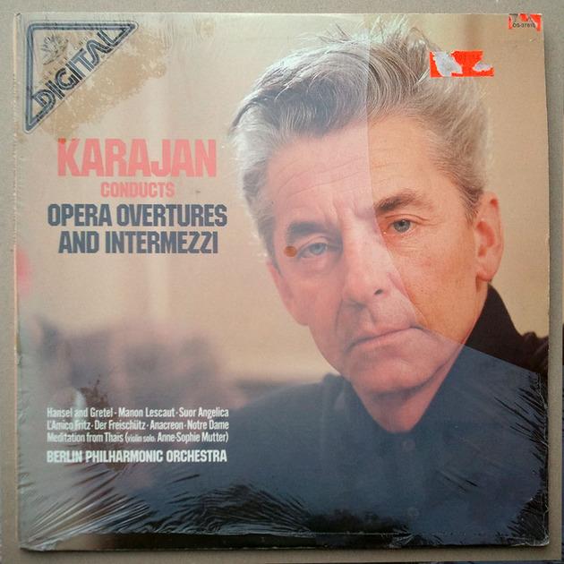 SEALED/Angel/Karajan - conducts opera Overtures and Intermezzi