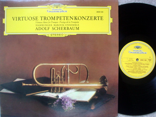 DG / Virtuoso Music for Trumpet, - SCHERBAUM, MINT!