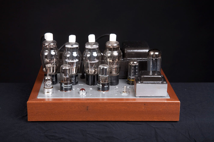 Jim Nichols JWN 6BG6 handcrafted push pull tube amp a sweet sounding amp by a student of Lance Cochrane