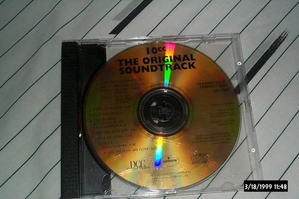 10cc - The Original Sountrk 24k gold dcc unreleased