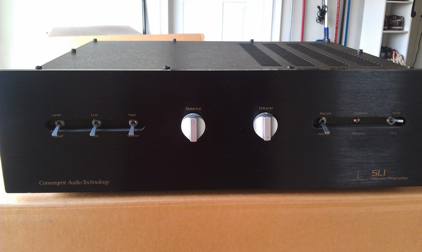 Convergent Audio Technology   (CAT) SL1 Ultimate Preamplifier