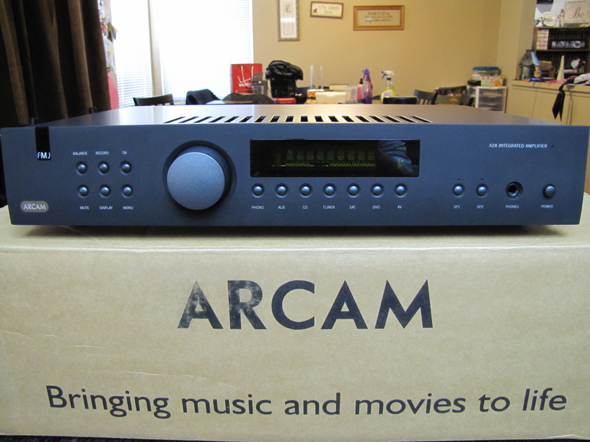Arcam A28 Integrated Amp W/Phono Excellent Condition