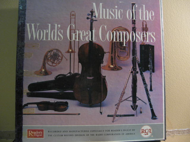 RCA  - World's Great Composers 12lp set stereo
