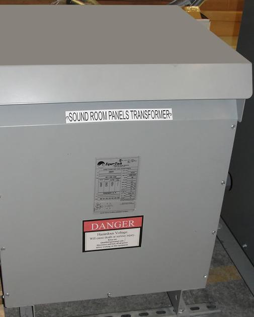 Equi=Tech Model 30NZ6-150VLB Neptune Series Isolation Transformer