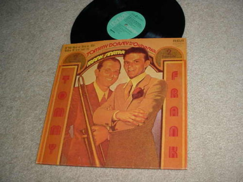 TOMMY DORSEY FRANK SINATRA -  DOUBLE LP RECORD  SEE YOU IN MY DREAMS