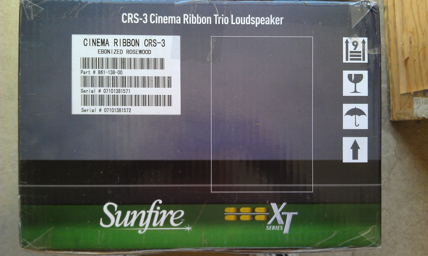 Sunfire CRS-3  Factory Sealed Pair of Speakers