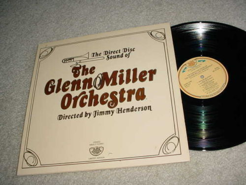 GLENN MILLER ORCHESTRA -   LP RECORD  DIRECT TO DISC
