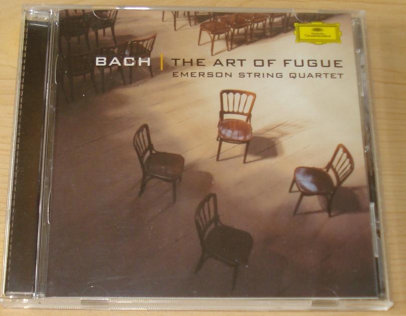 Emerson String Quartet - Back The Art of Fuge DG CD