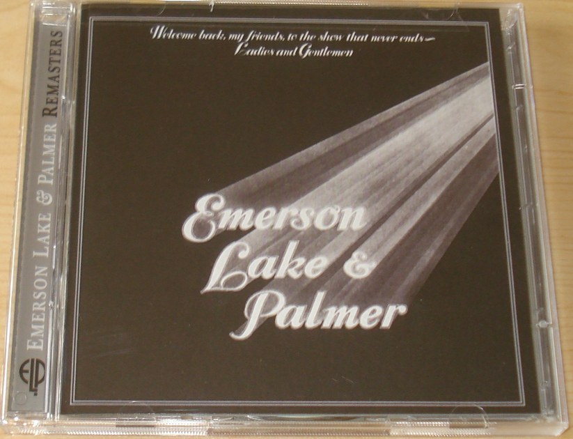 Emerson Lake and Palmer ELP - Welcome Back My Friends to the show that never ends 2 CDs Remaster