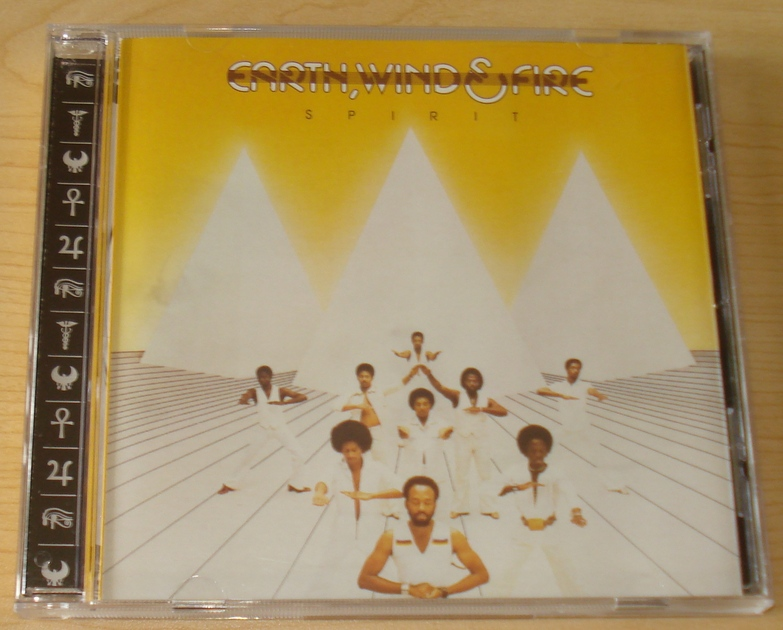Earth Wind and Fire  - Spirit Remaster CD