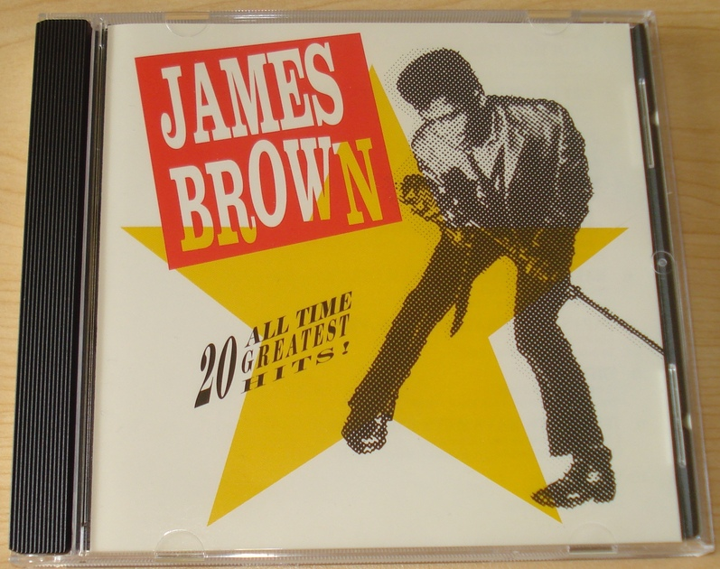 James Brown - 20 All Time Greatest Hits CD