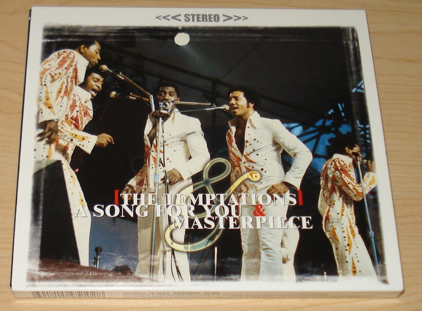 The Temptations - Masterpiece/Song for You  2fer CD Import