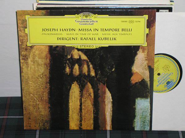 Kubelik/SOdBR - Haydn Paukenmesse DGG  TULIP German import