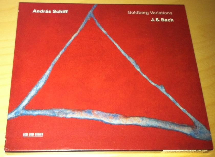 Andras Schiff - Bach - Goldberg Variations ECM CD