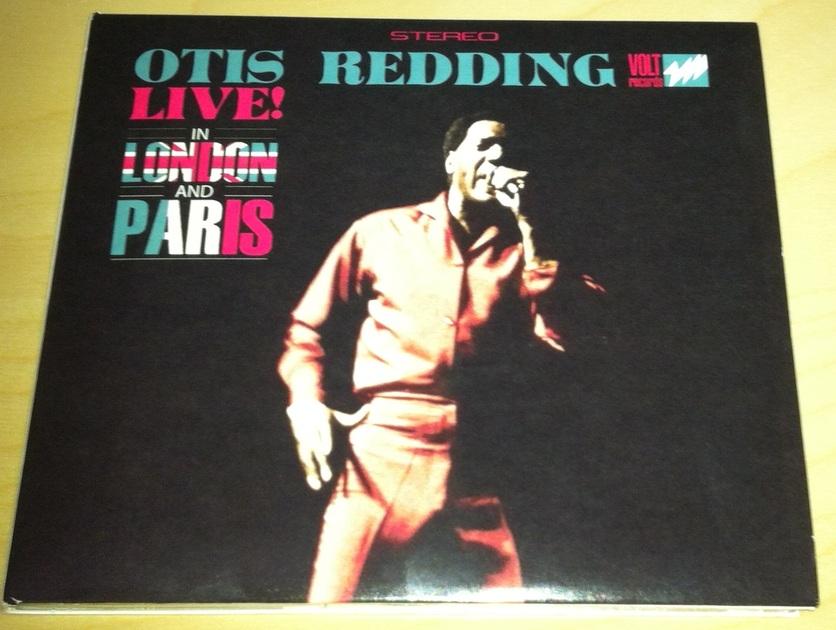 Otis Redding - Live London and Paris Import CD